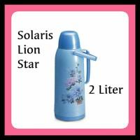 Termos Air Panas Lion Star Solaris/2 Liter.(Khusus Gojek). - Biru Muda