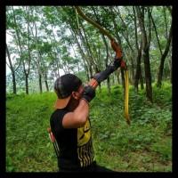 Busur Panah Gold Meanders Bow Kode 43