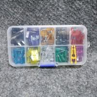 Fuse Tancap Blade Kecil Set 120 Pcs Box Capit peralatan