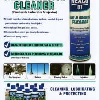 REXCO 81 CARB SPRAY & INJECTOR CLEANER 500 ML ORIGINAL - SPRAY PE