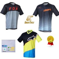 Jersey Sepeda Gc 2018 Lengan Pendek Dh