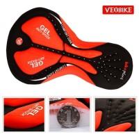 Veobike Men'S Bike Shorts / Celana Dalam Sepeda Cycling Inner Gel Pad