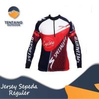 Kaos / Jersey Sepeda / Gowes Lengan Panjang Balap Specialized B022
