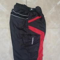 Celana Sepeda Tidak Ketat Padding Motif Transformer