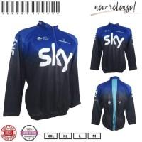 Baju Kaos Jersey Sepeda Xc Blue - Biru, Xl