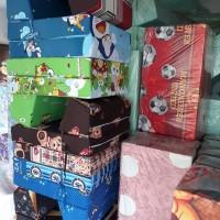 Cover Sarung Sopa Lipat Standar Selimut Kasur Busa Inoac motif terlar