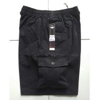 Celana Kolor Pendek Jumbo/Jeans/Karet/Pria/Wanita HR 702 Cargo