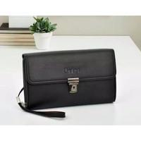 Fancy Pedro Man Leather Clucth Handbag Tas Tangan Dompet Kulit Pria