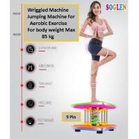 Wriggled Machine fitness 9 Pin Alat Olahraga Peramping Pelangsing