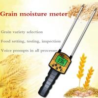 Grain Moisture Meter Digital Pengukur Kadar Air Biji Bijian AR991 Alat