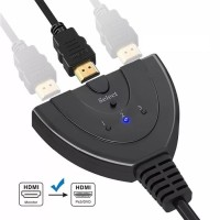 HDMI Switch cdf3 Port 3 in 3 out HDMI Swticher Kable 3 Input 1 Output