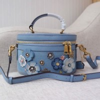 Coach Denim Tea Rose All Over - Original 100%