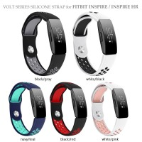 VOLT Series Silicone Sport Strap for FITBIT INSPIRE HR Band Tali Jam
