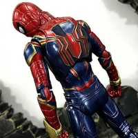 Mafex 081 Marvel Avengers Iron Spider Spiderman Infinity War Figure
