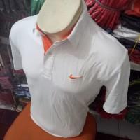 Nike Kerah Putih / Polo Shirt Nike Pria / Kaos Polo Termurah