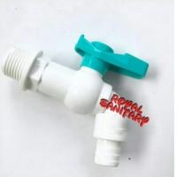 Kran Air Plastik Taman Engkol/Keran Air Plastik PVC Putih Murah