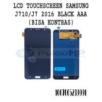 LCD + TOUCHSCREEN SAMSUNG J710 (J7 2016 ) BLACK AAA (BISA KONTRAS)