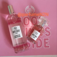 paket parfume the body shop body mist100ml & Edt 30ml