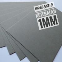 Kertas Karton Board No 50 Ukuran Plano 77.5 cm X 66.5 cm