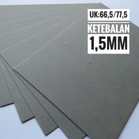 Kertas Karton Board No 40 Ukuran Plano 77.5 cm X 66.5 cm