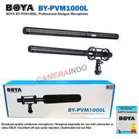 Microphone BOYA BY PVM1000L Professional Condenser Shotgun Mic DSLR