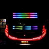LAMPU REM BUS DAN TRUCK RGB 24V 3 BARIS 1.5Meter aksesoris mobil