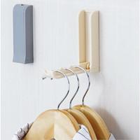 Gantungan Baju Lipat Hanger Gantungan Baju Dinding Unik Gantungan Tas