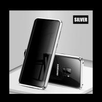 Samsung Galaxy S8 S9 S10 Plus Shellbox Metal Magnetic Bumper Cove Case