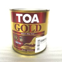 TOA CAT TEMBOK GOLD PAINT EMAS 0,946 LITER CAT KUBAH WARNA MAS 0,946L