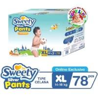 Sweety Silver Pants Box XL78