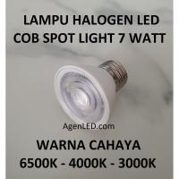Lampu HALOGEN LED 7W COB E27 spot sorot 7 w watt hallogen ulir e 27