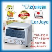 ZOJIRUSHI OVEN TOASTER ELECTRIC ETREQ75 SP GARANSI RESMI