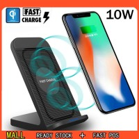For Samsung Galaxy S10 Plus/e Fan Qi Wireless Charger Dock Fast