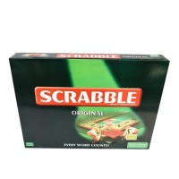 Scrabble Original board game Besar mainan edukasi Family Games 55605