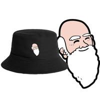 Topi BUCKET HAT polos custom KARTUN ORANG TUA CARTOON AMER iNDONESiA
