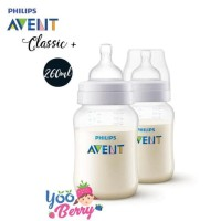 Philips Avent Botol Susu Classic + 260Ml Twin Pack (Isi 2)