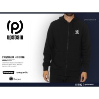 Jaket Distro Hoodie Premium Glow In The Dark Merek Upstain Wear Origin