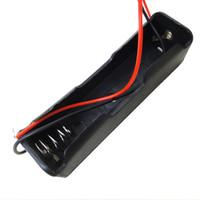 1x 18650 Battery Holder Baterai Case Batere Box Kotak Batre Dengan Kab