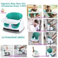 Ingenuity Baby Base 2 in 1 Ultramarin Green / Booster Seat /Kursi Bayi