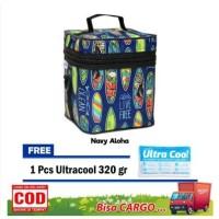 Cooler Bag Z-TWO Tas ASI Tas Pendingin ASI Free Ultra Cool Ice GEL