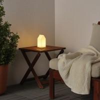 Decorative Table Lamp Lantern Lampu Dekorasi Meja White Modern Decor