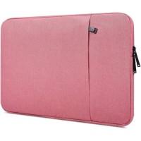 Tas Laptop Softcase Macbook Waterproof Nylon 12inch - Pink