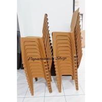 Kursi Bakso - Kursi Sandaran Plastik Napoly Murah- Kursi Makan - Medan
