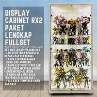 Lemari Display RX 2 Pajangan Koleksib Transformers Figure Hot Toys