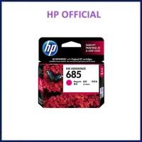 Tinta HP 685 Magenta Original . tinta printer HP ori 685 colour
