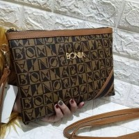 Tas wanita tas Handbag BO Strip #D812