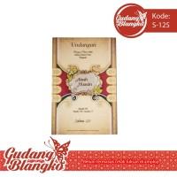 Blanko Undangan Pernikahan Unik Salma 125 Harga Termurah