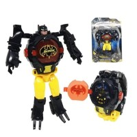 Jam Tangan Watch Anak Robot Besar Batman