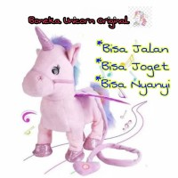 Boneka Anak Unicorn Lucky Boy Sunday Original / Kado Mainan Anak Bonek