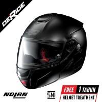 Nolan N90-2 CLASSIC N-COM Col. 010 (FLAT BLACK)